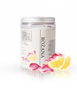 Różana sól do kąpieli z Różą i Cytryną - Fresh&Natural 1 kg
