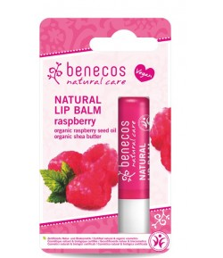 Naturalny Balsam do ust MALINOWY – Benecos 4,8 g