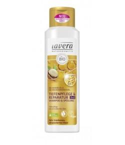 Intensywnie regenerujący szampon i odżywka 2w1– Lavera 250 ml