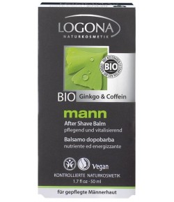 Balsam po goleniu - Mann BIO - Logona 50 ml