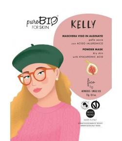 Kelly 08 - maseczka alginatowa PEEL OFF Figa do cery suchej - PuroBIO 10ml