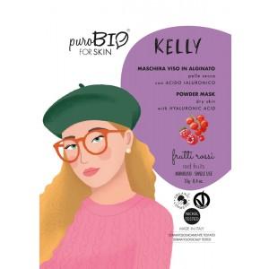 Kelly 07 - maseczka alginatowa PEEL OFF Czerwone owoce do cery suchej - PuroBIO 10ml