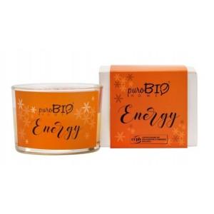 Świeca zapachowa Organic Energy - puroBIO HOME