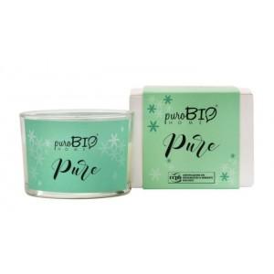 Świeca zapachowa Organic Pure - puroBIO HOME