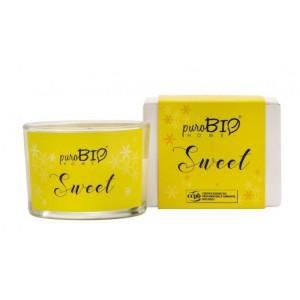 Świeca zapachowa Organic Sweet - puroBIO HOME