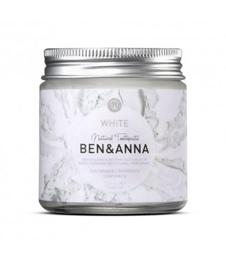 Naturalna wybielająca pasta do wrażliwych zębów z szałwią i rokitnikiem -  BEN&ANNA 100 ml