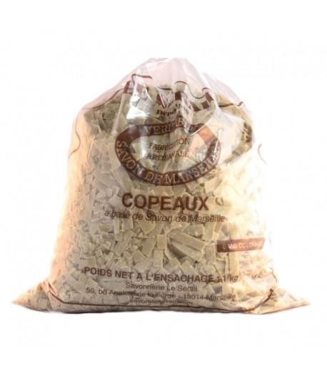 Płatki mydlane z mydła Marsylskiego z oliwą z oliwek - 1 kg