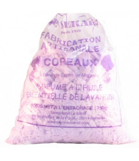 Płatki mydlane z mydła Marsylskiego o zapachu lawendy - 750 g