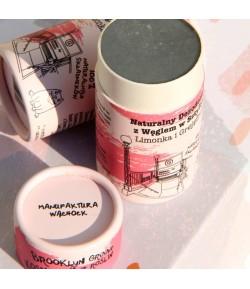 Dezodorant w sztyfcie z Węglem - Limonka i Grejpfrut - Brooklyn Groove 60g