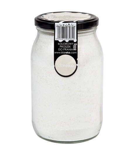 Zero Waste Kolorowy Proszek do Prania - Bezzapachowy - KLAREKO 800g
