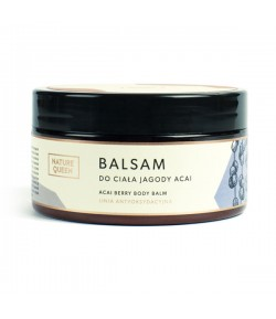 Balsam do ciała Jagody Acai - Nature Queen 200 ml
