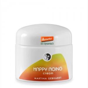 Happy Anging przeciwzmarszczkowy krem do skóry dojrzałej - Martina Gebhardt 50 ml