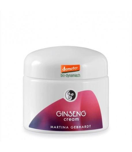 Ginseng odżywczy krem dla skóry wymagającej i pozbawionej witalności - Martina Gebhardt 50 ml