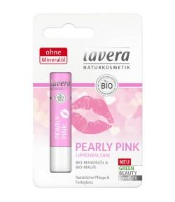 PEARLY PINK Pielęgnacyjny balsam do ust z bio malwą - Lavera 4,5 g