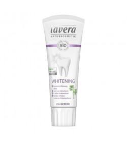 Wybielająca naturalna pasta do zębów z bio-bambusem i fluorem - Lavera 75 ml