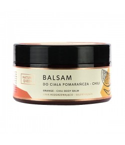 Balsam do ciała Pomarańcza Chili - Nature Queen 200 ml