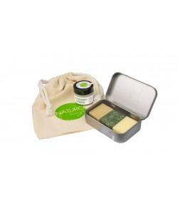 Skrzyp - zestaw kosmetyków podróżnych - Naturologia