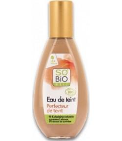 Nawilżający podkład w płynie 5 w 1 beige eclat 02 - SO'BiO Etic 30 ml
