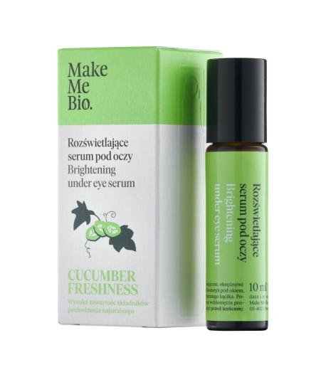 Cucumber Freshness - Rozświetlające serum pod oczy - roller - Make Me Bio 10ml