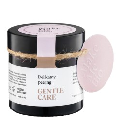 Gentle Care - Delikatny peeling do twarzy - Make Me Bio 60 ml