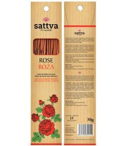 Kadzidełka różane - Sattva 30g