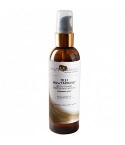 Olejek musztardowy do olejowania skóry głowy i włosów - Beaute Marrakech 100 ml