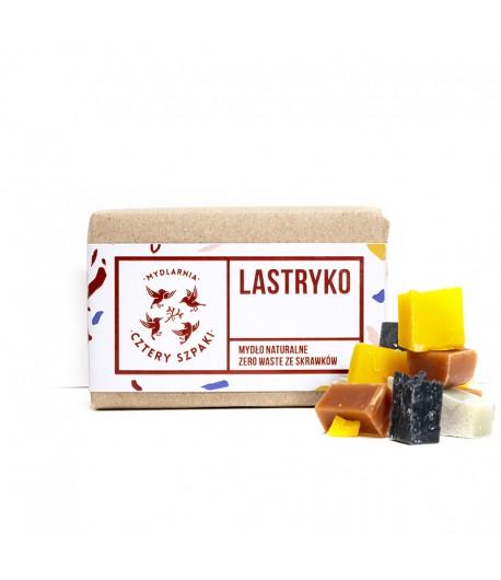 Mydło LASTRYKO - mydło zero waste ze skrawków - Mydlarnia Cztery Szpaki 110g