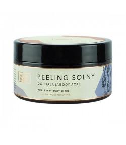 Peeling solny do ciała Jagody Acai - Nature Queen 250 ml