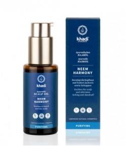 Przeciwłupieżowy olejek do włosów Neem - Khadi 50 ml