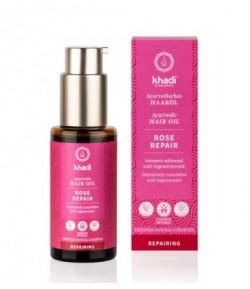 Intensywnie odżywczy olejek do włosów Róża - Khadi 50 ml