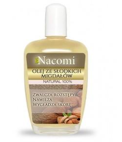 Olej ze słodkich migdałów - Nacomi 50 ml