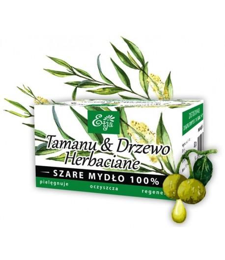 Mydło Potasowe - Tamanu, Drzewo Herbaciane - Etja 80 g