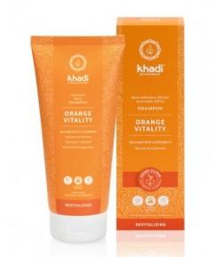 Pomarańcza - Rewitalizujący Szampon Ajurwedyjski - Khadi 200 ml