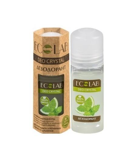 Deo Crystal - dezodorant - 100% naturalny - ałun glinowo - potasowy, ekstrakt cytryny - EO LAB 50 ml