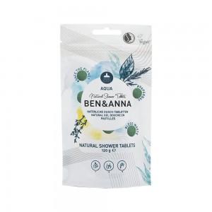 Naturalne tabletki do mycia ciała AQUA - BEN&ANNA 120g