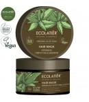Wzmacniająca maska stymulująca wzrost włosów z aloesem - ECOLATIER 250 ml