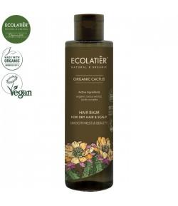 Balsam do włosów suchych z ekstraktem z kaktusa Wygładzenie i Piękno - ECOLATIER 250 ml
