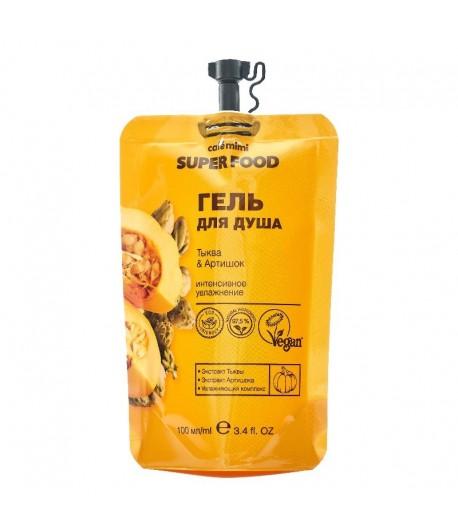 Żel pod prysznic Dynia i Karczoch - CAFE MIMI 100 ml
