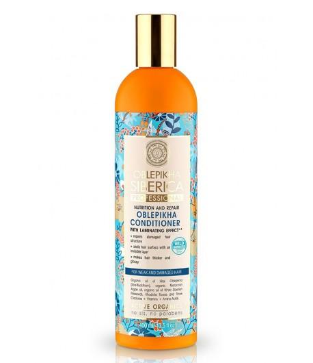 Balsam Rokitnikowy - Z Efektem Laminowania - Natura Siberica Professional 400 ml