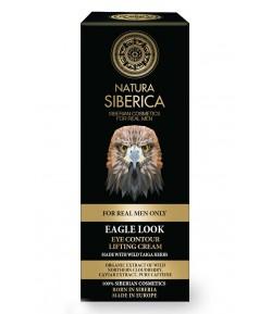 Liftingujący krem do skóry wokół oczu - SPOJRZENIE ORŁA - Natura Siberica Men 30 ml