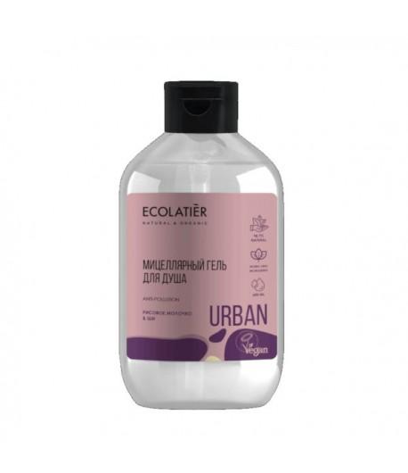Micelarny pod prysznic - Proteiny ryżowe i Masło shea  - Ecolatier 600 ml