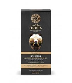 Pobudzający żel do mycia twarzy - OBJĘCIE NIEDŹWIEDZIA - Natura Siberica Men 150 ml