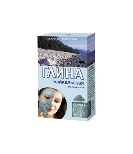 Bajkalska glinka kosmetyczna - błękitna- odmładzająca - do twarzy i ciała - Fitokosmetik 2x50g
