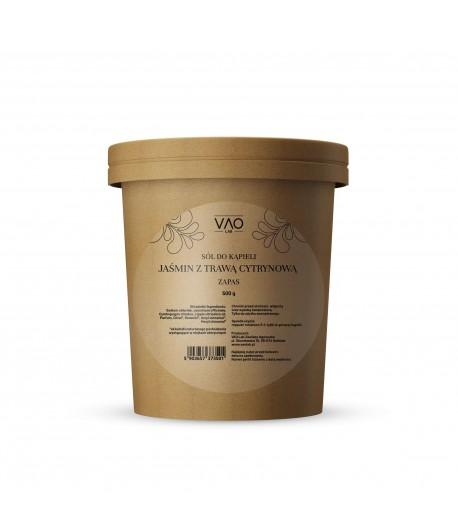 Sól do kąpieli Jaśmin z Trawą cytrynową - zapas - VAO LAB 500g