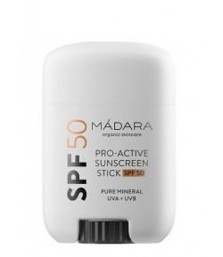 Pro Active Mineralny krem z filtrem SPF50 w sztyfcie - Madara 18g