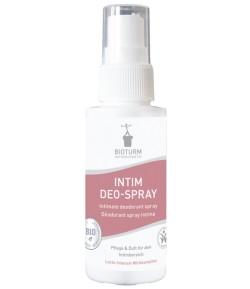 Dezodorujący spray z bio-serwatką do pielęgnacji intymnej - Bioturm 50 ml