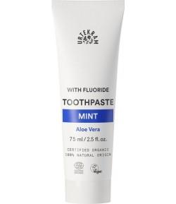 Pasta do zębów z miętą, aloesem i fluorem - URTEKRAM 75 ml
