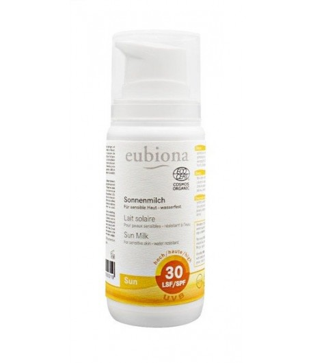 Mleczko na słońce SPF 30 - Eubiona 100 ml