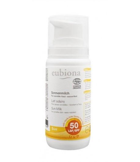 Mleczko na słońce SPF 50 - Eubiona 100 ml
