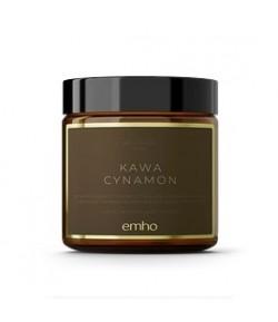 Świeca sojowa KAWA CYNAMON - emho 100 ml